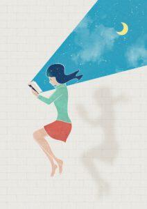 Bücher Liste aus Kopf über Herz Podcast von Diane Hielscher