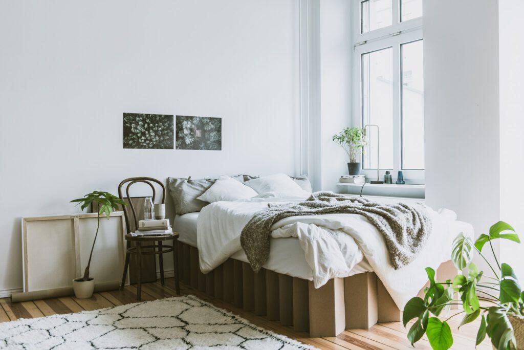 nachhaltige Betten bei Room in a Box